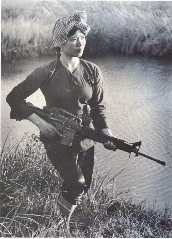 Female Viet Cong Warrior c.1973