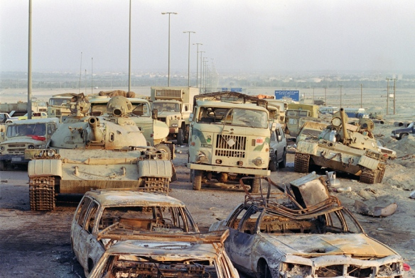 RETRO-GULF WAR-IRAQI ARMY-DESTRUCTION