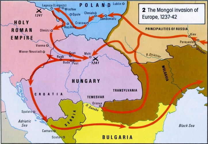 Image result for mongols in vienna