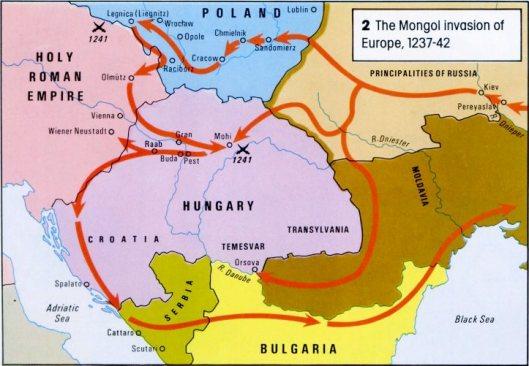 MongolsinEurope