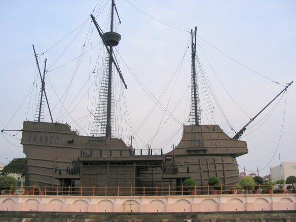 Portuguese_ship_museum_Melaka