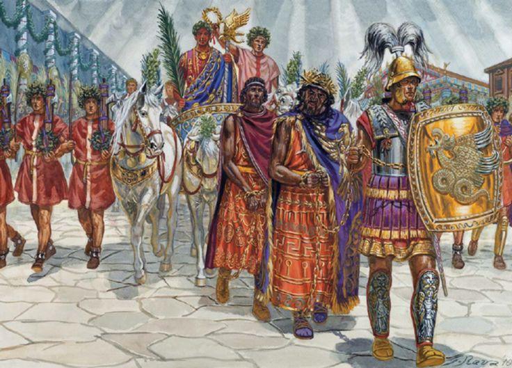 MARIUS IN NUMIDIA   Weapons and Warfare