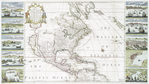 A_new_and_correct_map_of_the_trading_part_of_the_West_Indies
