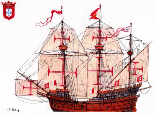 Flor de la mar - Portuguese Carrack