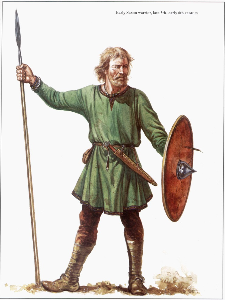 Anglo-Saxons – The Warrior Class | Weapons and Warfare