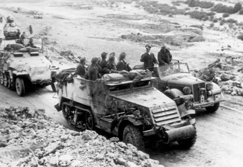 Nordafrika, Rommel, Bayerlein