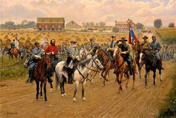 lee-deliberates-heths-advance-gettysburg-by-bradley-schmehl-4067