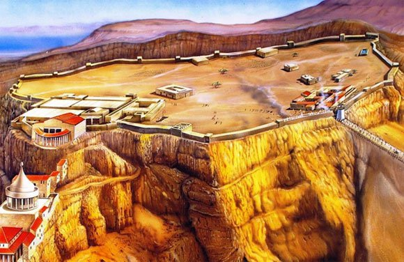 masada-fortress-reconstruction
