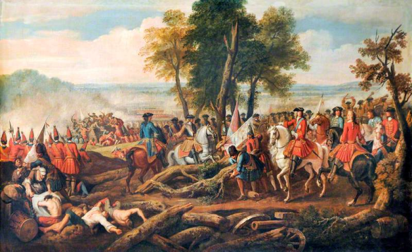 The_Battle_of_Malplaquet,_1709