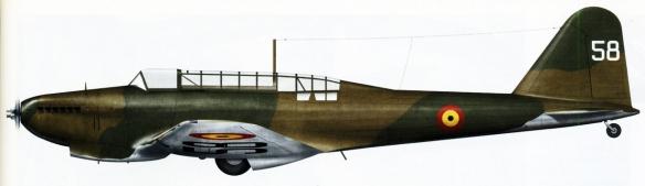Artwork-Fairey-Battle-MkI-BAF-5e-Escadrill-Groupe-III-3e-Regiment-5.III.3-T58-Belgium-May-1940-0A