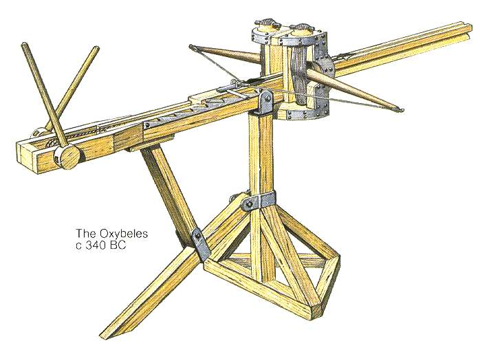 Torsion Catapults Weapons And Warfare