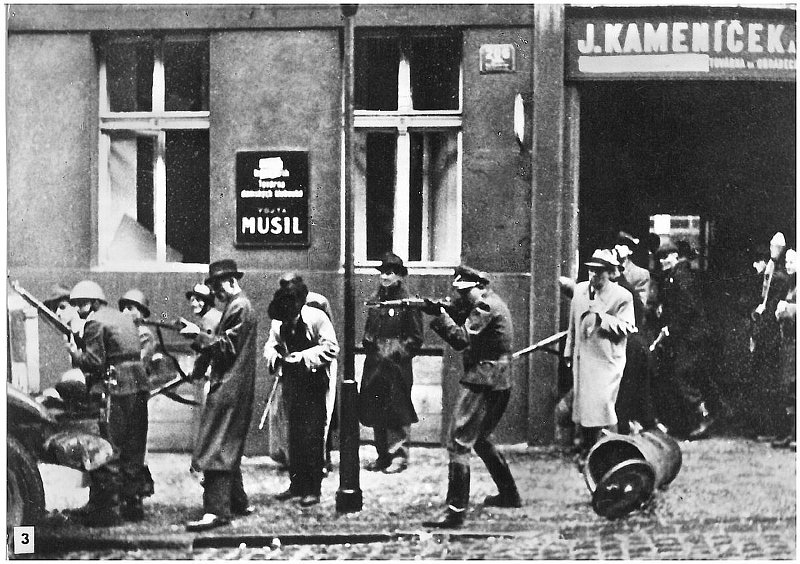 Image result for prague uprising 1945 vlasov
