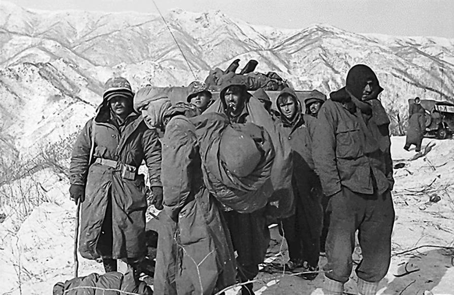 Image result for photos of the chosin reservoir 1950