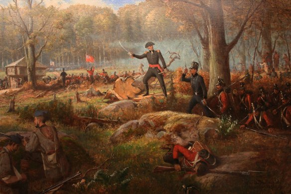 3C-GR12-Charles-de-Salaberry-at-the-Battle-of-the-Chateauguay1