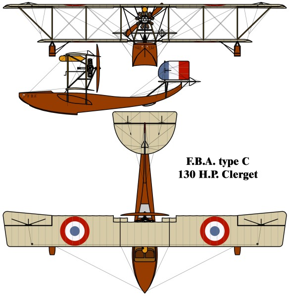 Franco_British_Aviation_(FBA)_Type_C_drawing