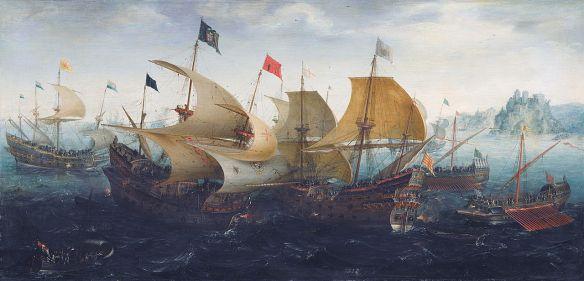 1280px-Aert_Anthonisz._The_battle_of_Cadix_1608