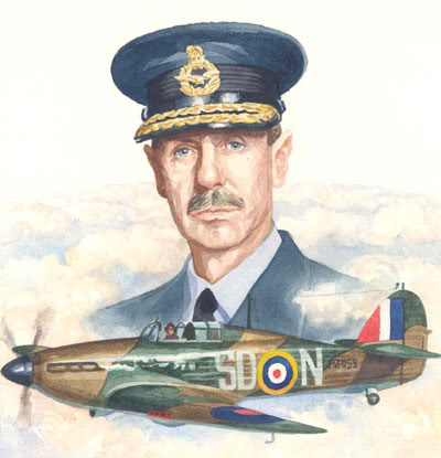 Dowding-and-Hurricane-art