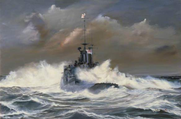 Hamilton, John Alan; HMS 'Renown' in a North Sea Gale, April 1940; IWM (Imperial War Museums); http://www.artuk.org/artworks/hms-renown-in-a-north-sea-gale-april-1940-7627
