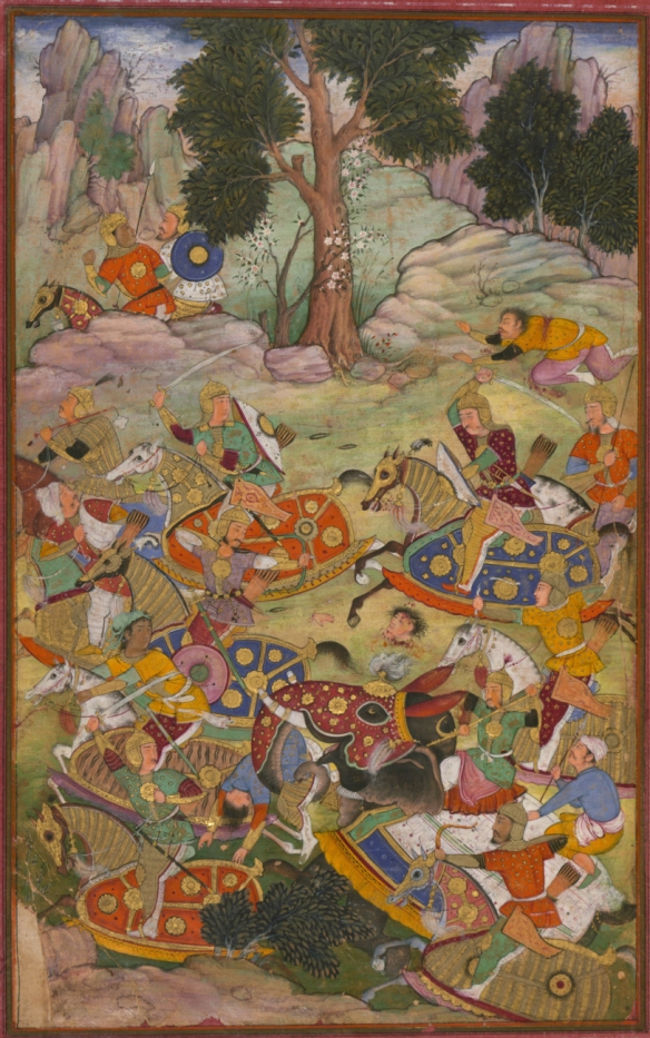 The_battle_of_Panipat_and_the_death_of_Sultan_Ibrāhīm,_the_last_of_the_Lōdī_Sultans_of_Delhi