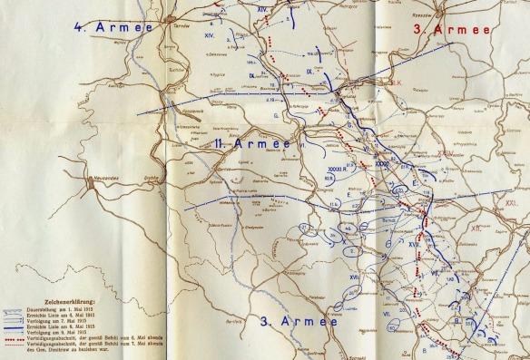 6 - Gorlice-Tarnow Map