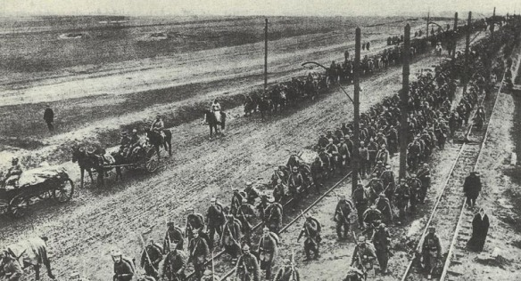 germans-and-austro-hungarian-force-on-the-move-during-the-gorlice-tarnow-offensive