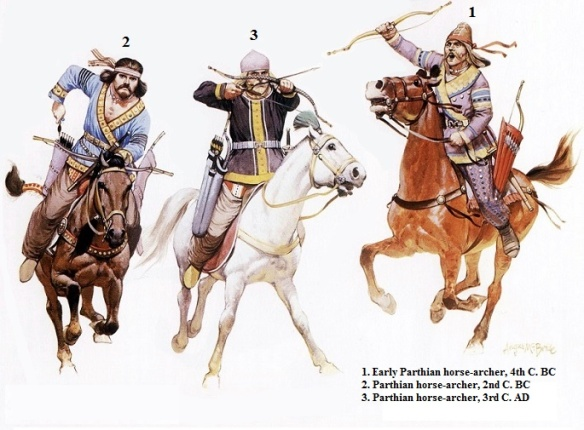 parthian-persian-horse-archers-during-the-wars-against-rome
