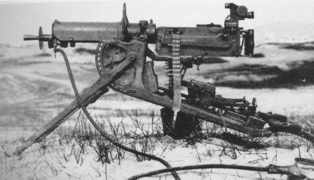 Machine Guns WWI: Issue, organization and doctrine | Weapons
