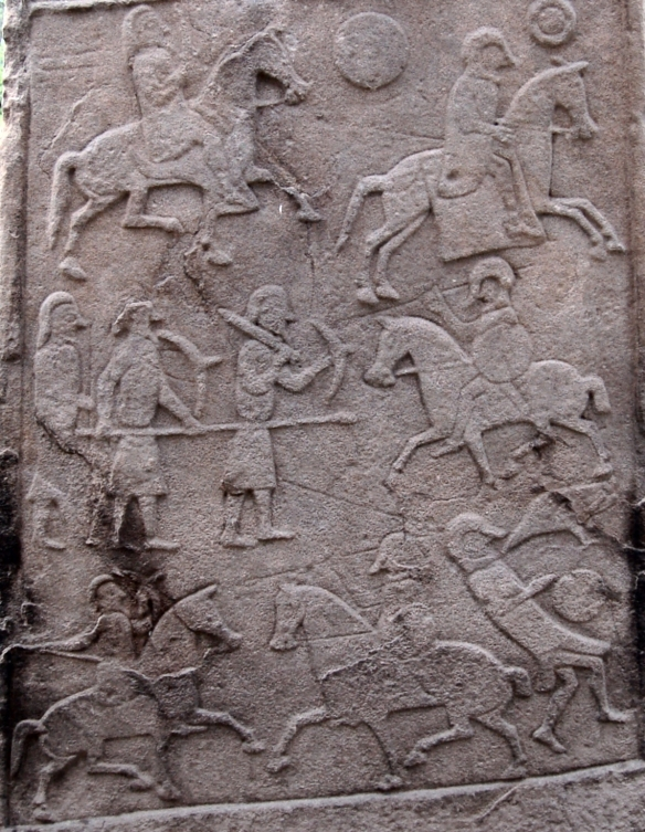 pictish_stone_at_aberlemno_church_yard_-_battle_scene_detail