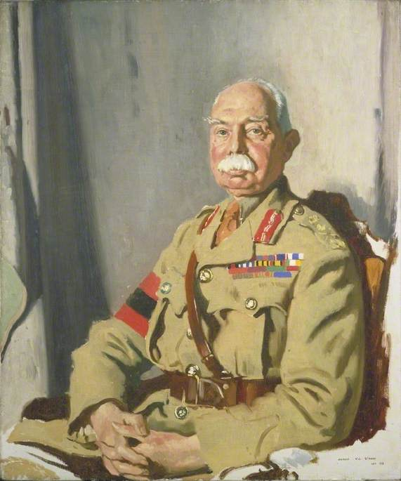 Orpen, William; General Sir Herbert Charles Onslow Plumer (1857-1932), GCMG, GCVO, KCB, Second Army; IWM (Imperial War Museums); http://www.artuk.org/artworks/general-sir-herbert-charles-onslow-plumer-18571932-gcmg-gcvo-kcb-second-army-6446