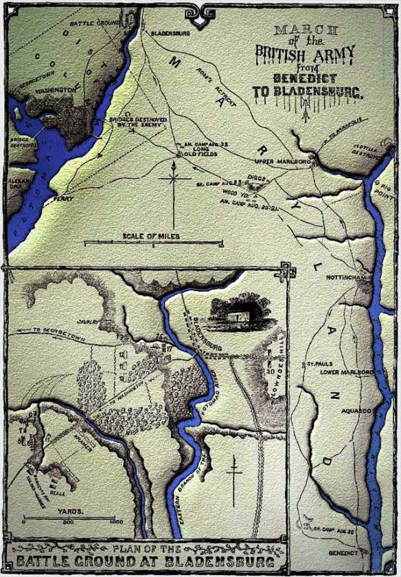 british_march_from_benedict_to_bladensburg_19_august_1814