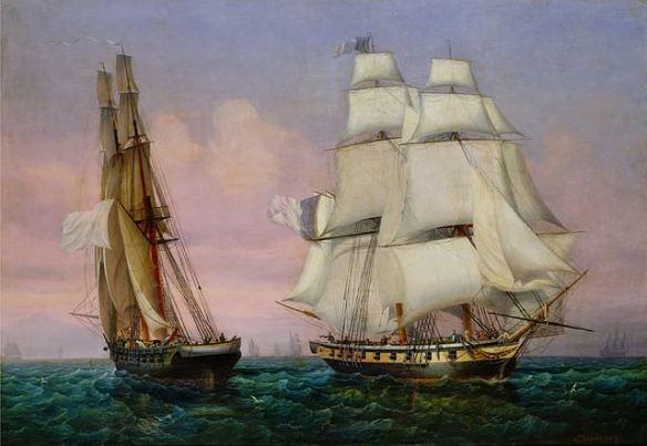 napoleon-return-from-the-isle-of-elba-garneray