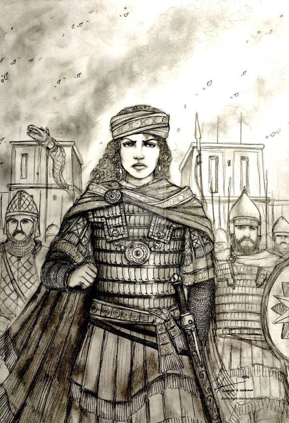 zenobia_of_palmyra__273_ad___women_war_queens_by_gambargin-d7oo57y