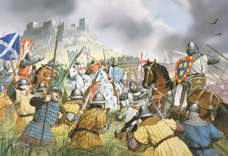 Hasil gambar untuk War of Scottish Independence artwork