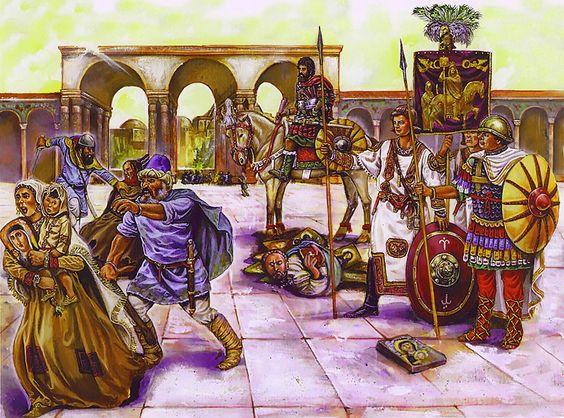 Византия эпохи темных веков и иконоборчества