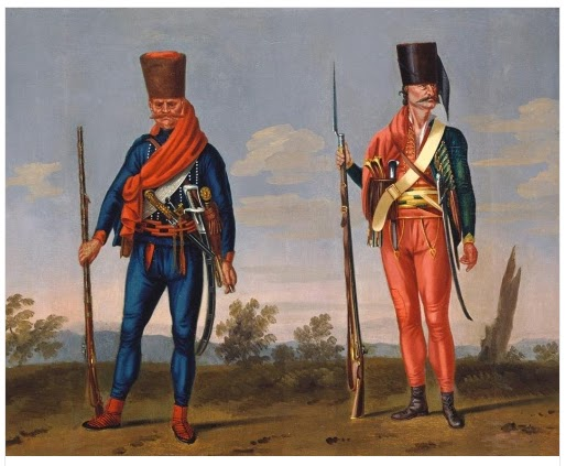 banalist-and-pandour-freikorps-trenck-morier-1748-hmd-163-royal-collection