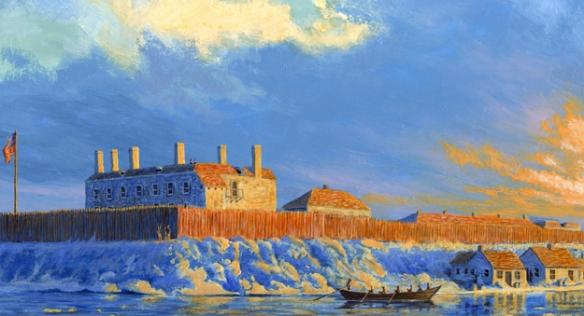 war_of_1812_fort_niagara_winter