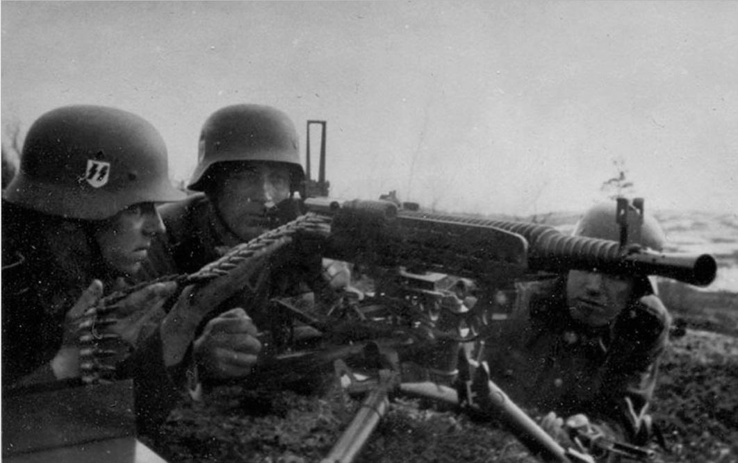 machine gun warfare