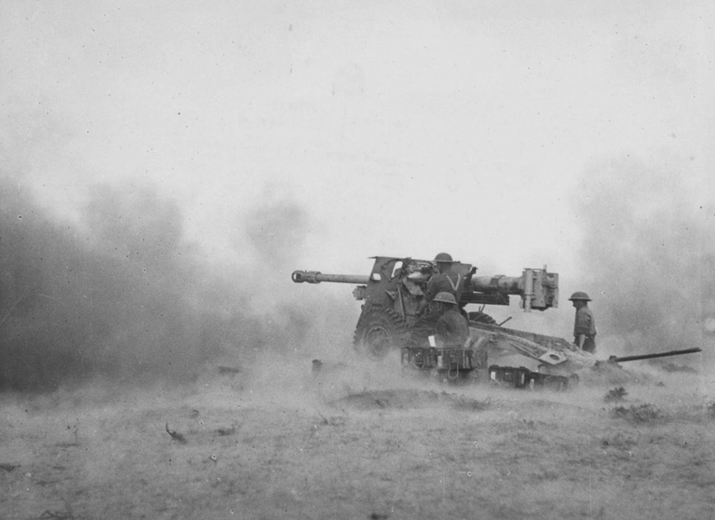"German 50 Mm Anti Tank Gun: 17/25-pounder ""Pheasant"" Tunisia – 1943"