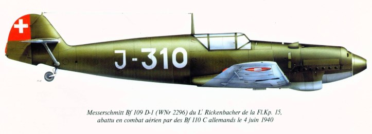 The Swiss Air Force in World War II | Weapons and Warfare