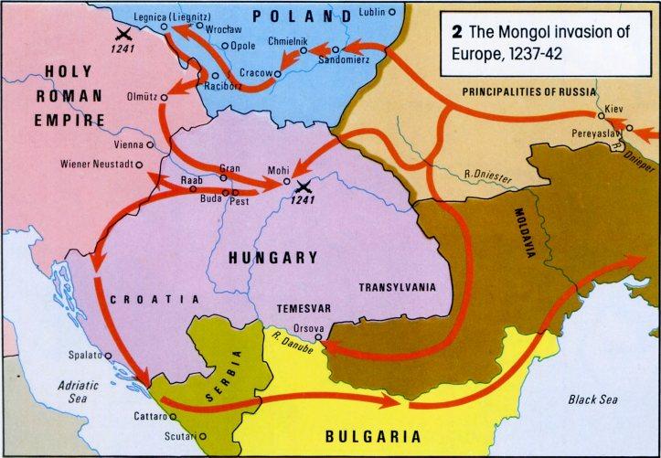 Saint Étienne roi apostolique de Hongrie - comment la Hongrie est devenue un pays chrétien Mongolsineurope