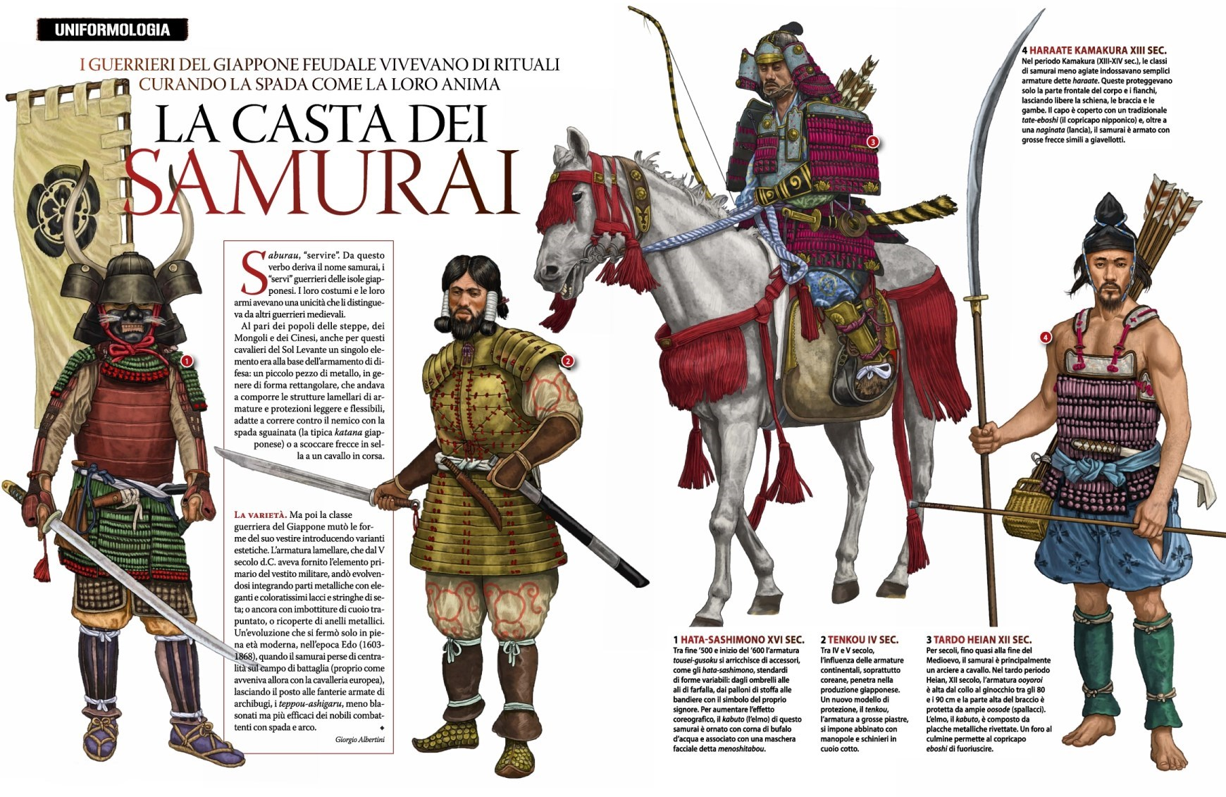 The characteristics of the samurai a japanese warrior class