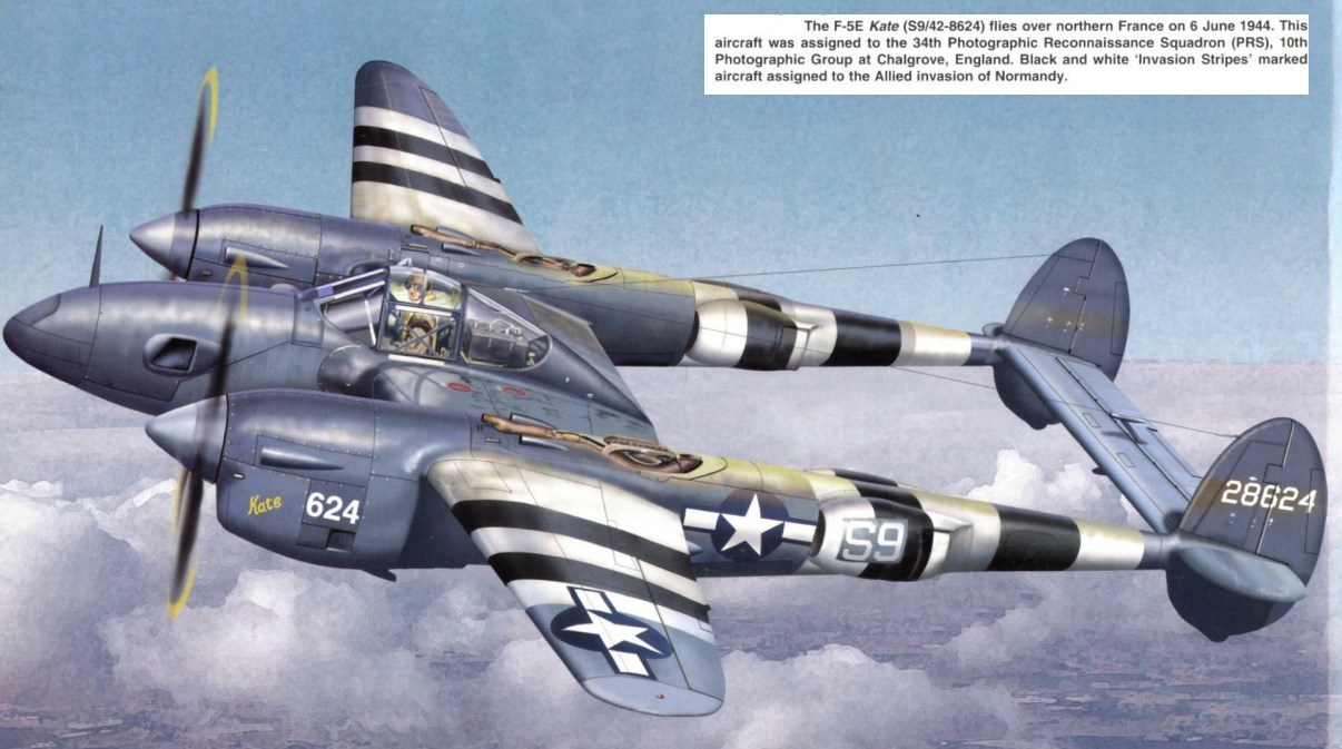 P 38 Fighter Aircraft