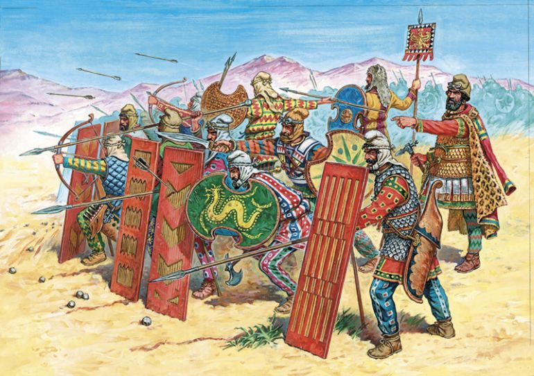 Persian Rule of Egypt   Weapons and Warfare Ancient Persian Army