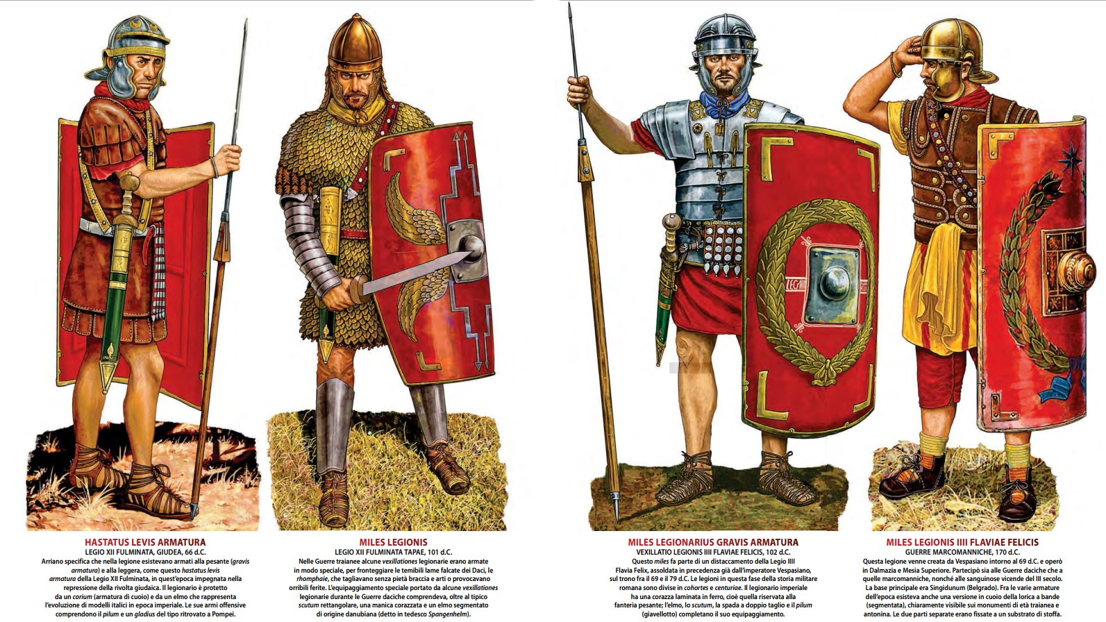 roman legionary 509 bc to 170 ad weapons and warfare
