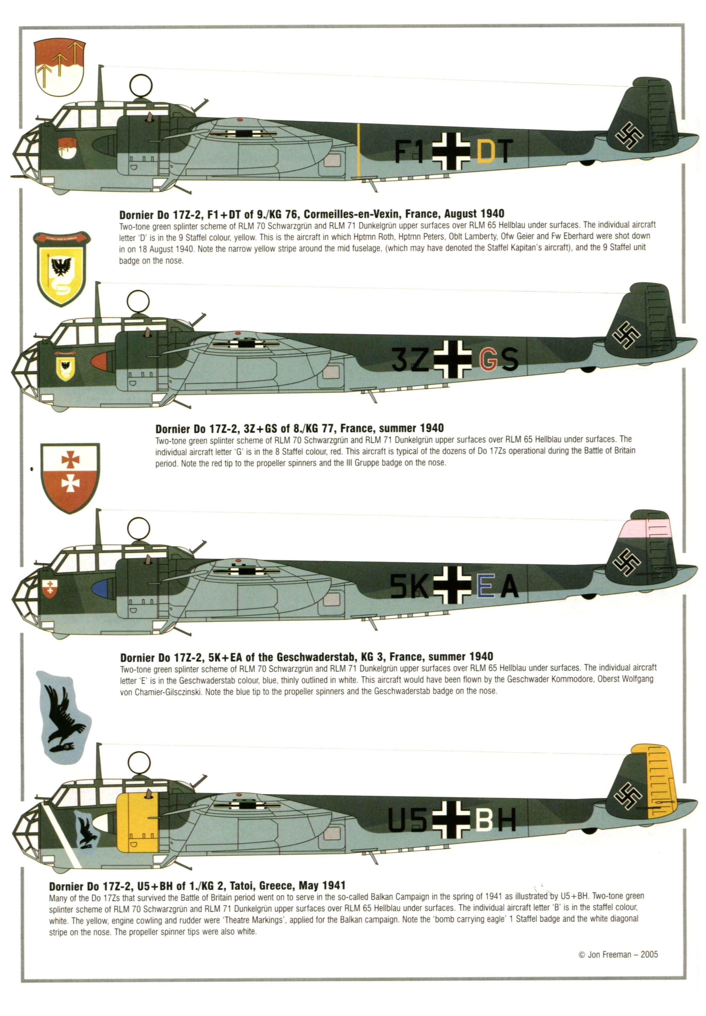 Dornier Do 17/Do 215 | Weapons and Warfare
