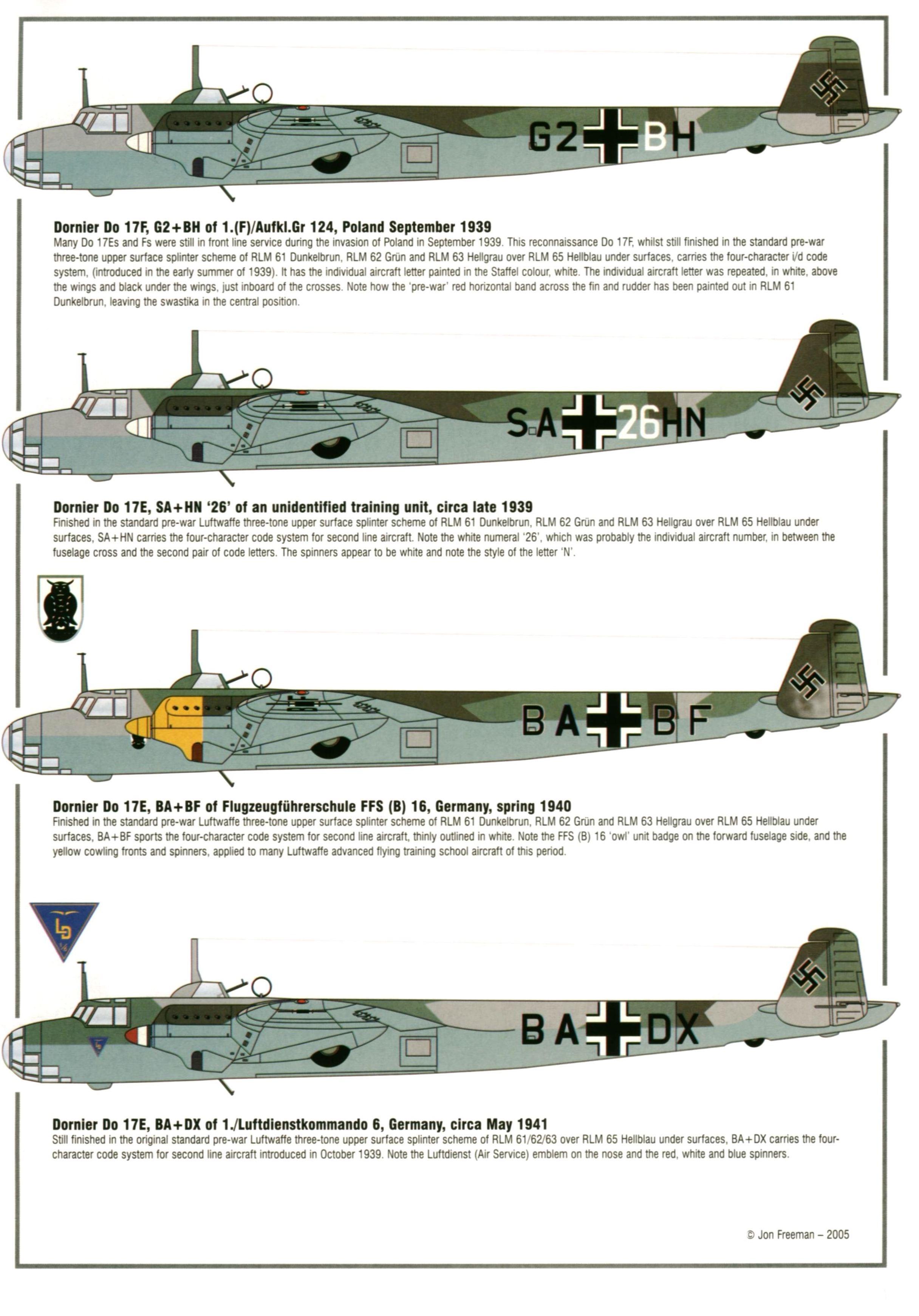 Dornier Do 17/Do 215   Weapons and Warfare