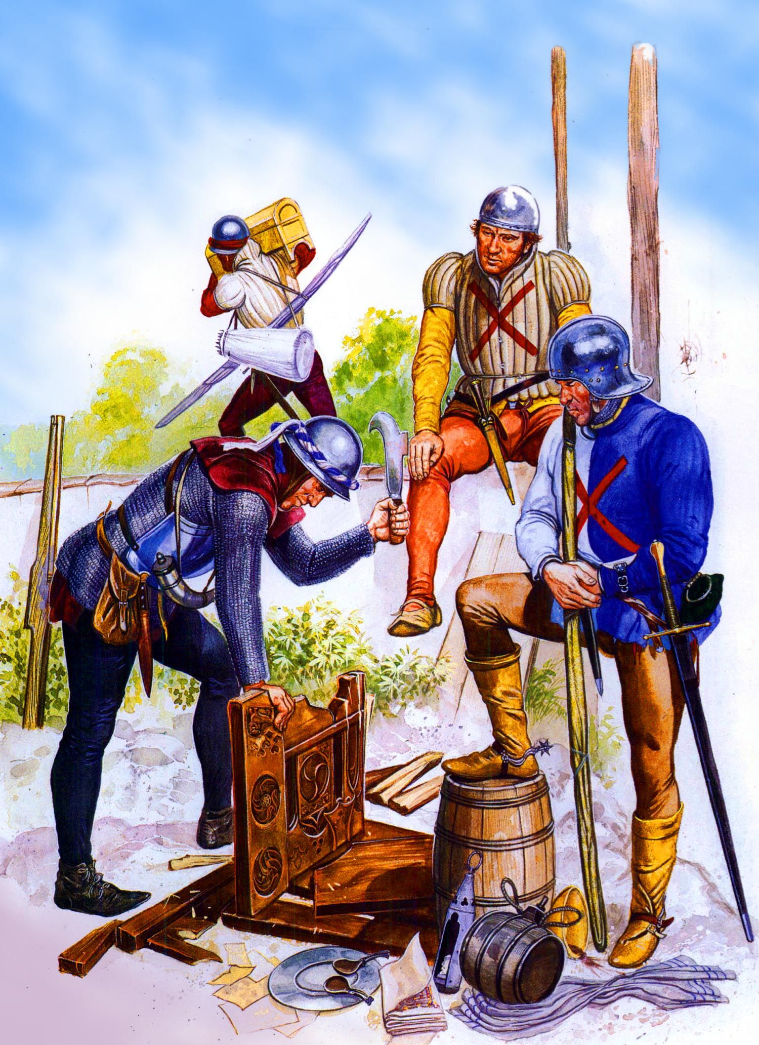 BURGUNDIANS IN THE 100-YEARS' WAR | Weapons and Warfare