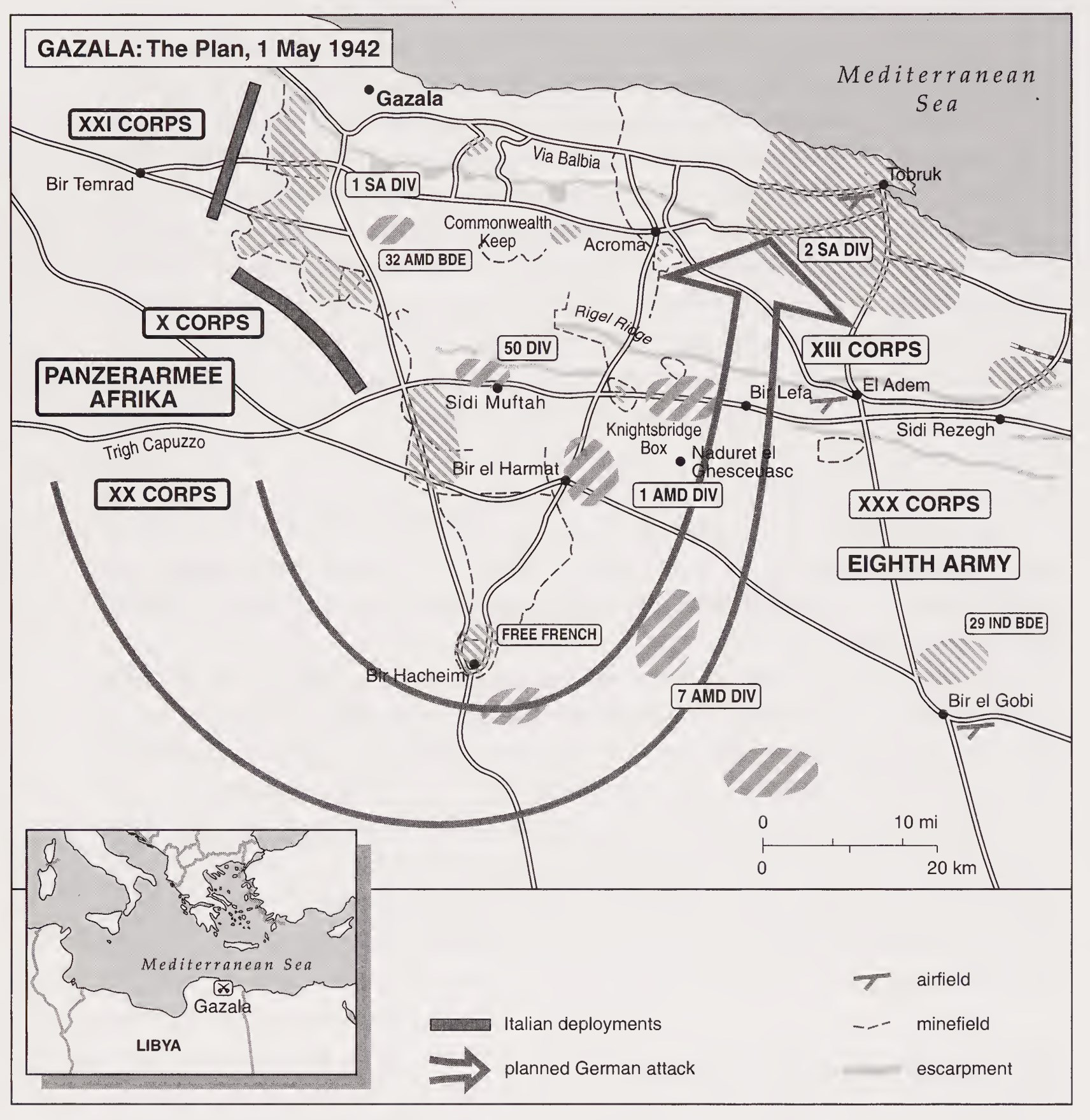 Image result for Axis capture of Tobruk - June 1942 - animated map