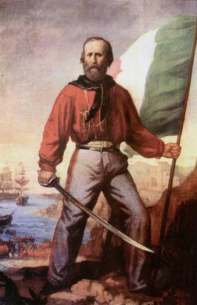 Resultado de imagem para Giuseppe Garibaldi (1807-1882)