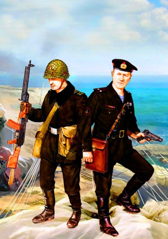 Soviet Naval Infantry | Weapons and Warfare